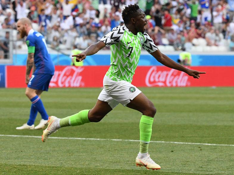 ฟุตบอลโลก 2018 : ไนจีเรีย 2-0 ไอซ์แลนด์