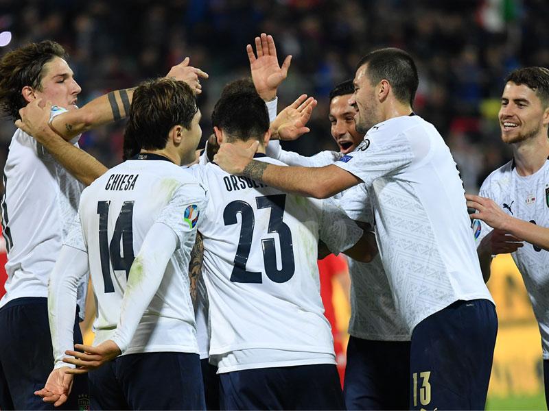 ยูโร 2020 รอบคัดเลือก : อิตาลี 9-1 อาร์เมเนีย