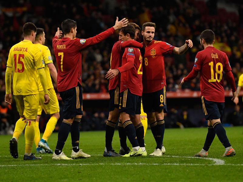 ยูโร 2020 รอบคัดเลือก : สเปน 5-0 โรมาเนีย