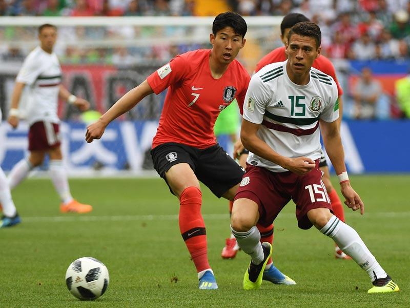 ฟุตบอลโลก 2018 : เกาหลีใต้ 1-2 เม็กซิโก