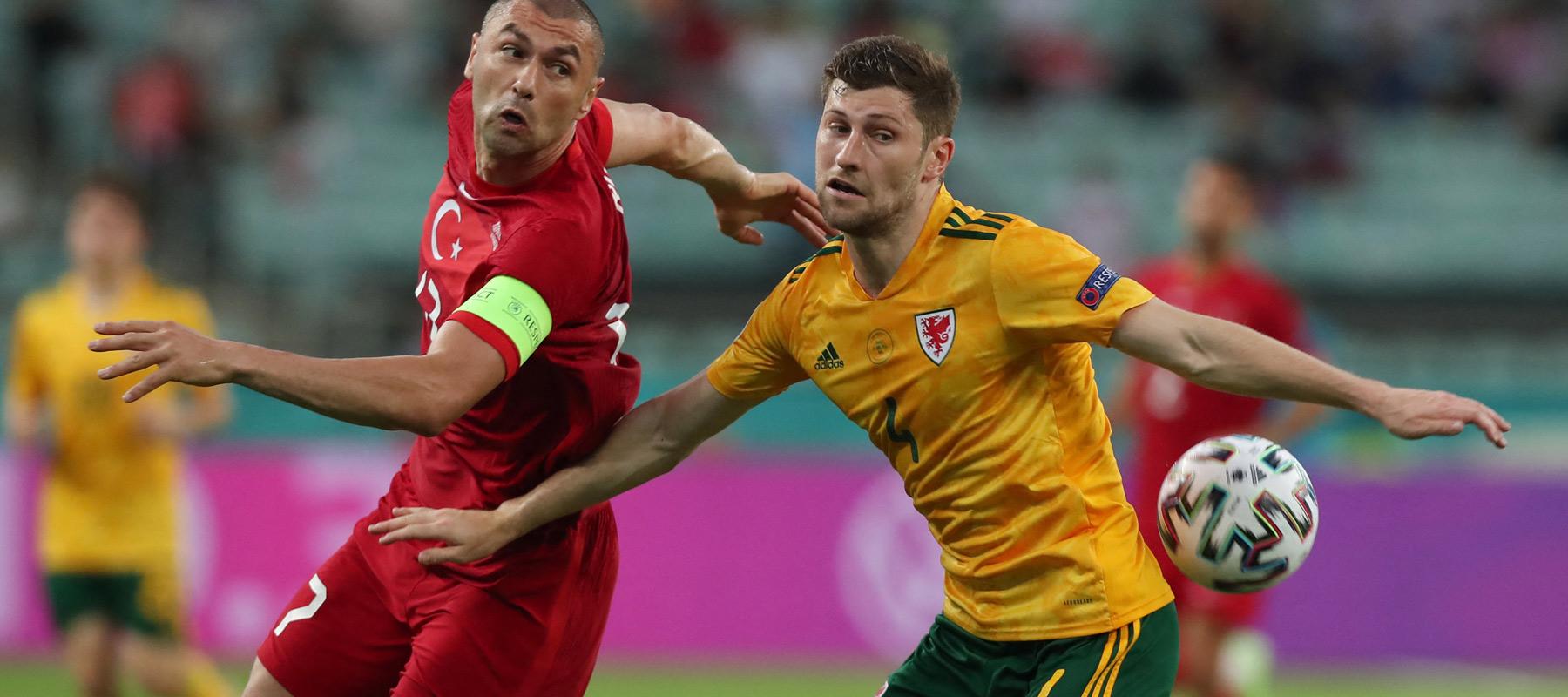 ตุรกี v เวลส์ ผลบอลสด ผลบอล ยูโร 2020