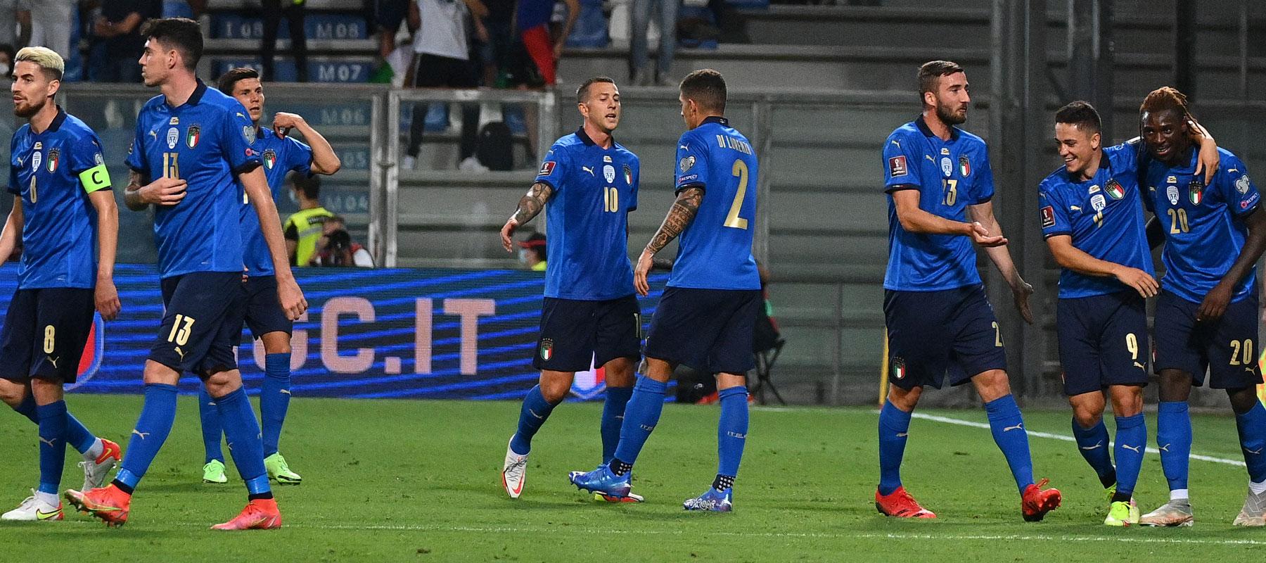 อิตาลี v ลิทัวเนีย ผลบอลสด ผลบอล ฟุตบอลโลก 2022 รอบคัดเลือก โซนยุโรป
