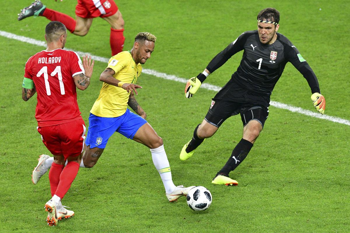 เซอร์เบีย v บราซิล ผลบอลสด ผลบอล ฟุตบอลโลก