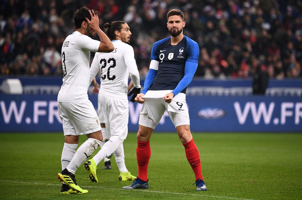 ฝรั่งเศส v อุรุกวัย ผลบอลสด ผลบอล ฟุตบอลอุ่นเครื่อง