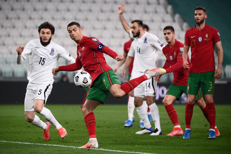 โปรตุเกส v อาเซอร์ไบจาน ผลบอลสด ผลบอล ฟุตบอลโลก 2022 รอบคัดเลือก โซนยุโรป