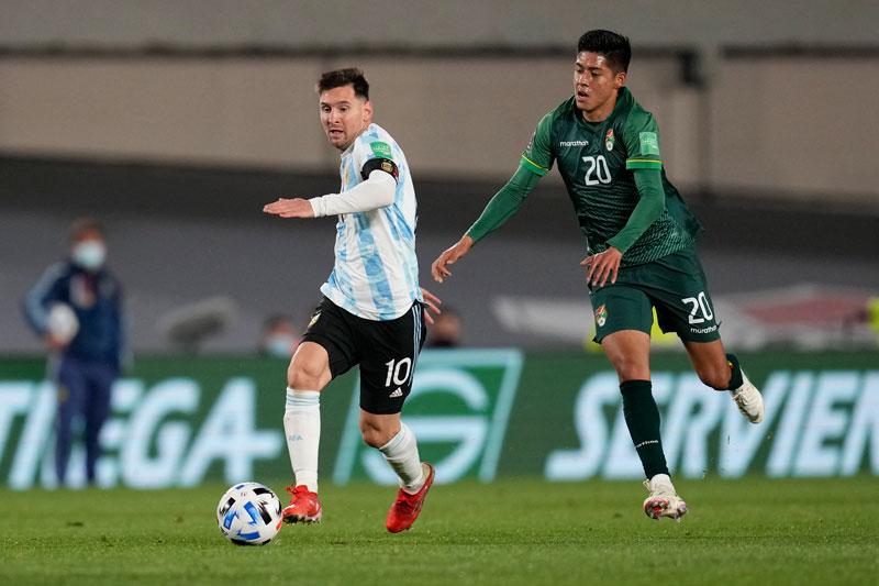 อาร์เจนตินา v โบลิเวีย ผลบอลสด ผลบอล ฟุตบอลโลก 2022 รอบคัดเลือก  โซนอเมริกาใต้
