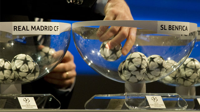 ผลจับฉลากยูฟ่า ยูฟ่ารอบ16ทีม ยูฟ่าเเชมเปี่ยนลีก ยูฟ่าเเชมเปี่ยนลีก 16ทีมสุดท้าย 2012-2013 แมนยู ยูฟ่า แมนยู ชน มาดริด ตารางยูฟ่า