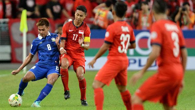 สิงคโปร์ 1-2 ไทย : ช้างศึกประเดิม 3 แต้ม