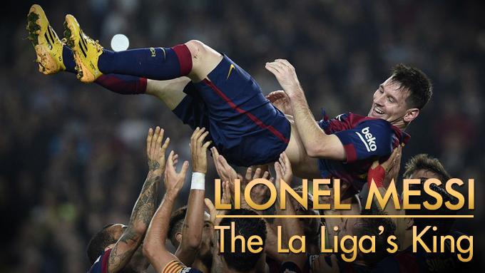 ลีโอ เมสซี่ - The La Liga's King
