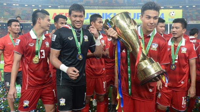 ไทย 2-3 มาเลเซีย : ช้างศึก ชนะ เสือเหลือง สกอร์รวม 4-3 ซิวแชมป์ เอเอฟเอฟ ซูซูกิคัพ 2014